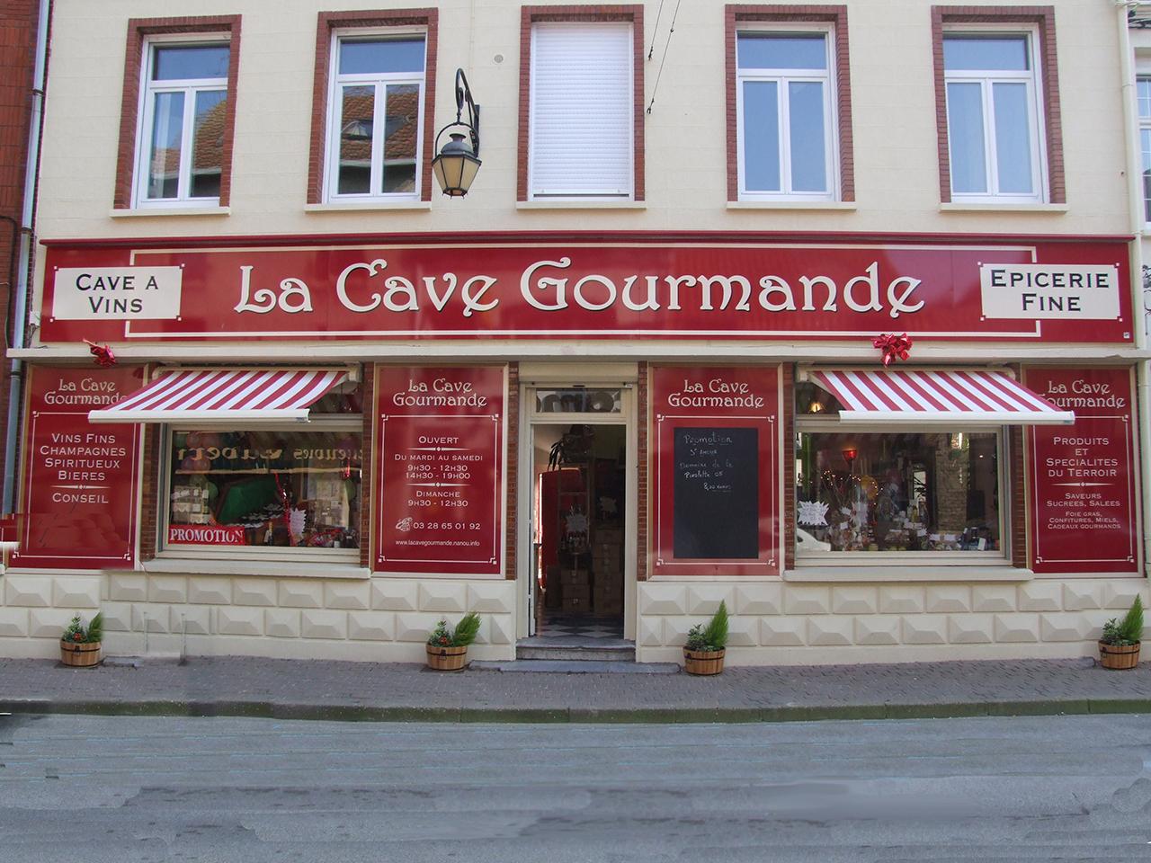 LA CAVE GOURMANDE