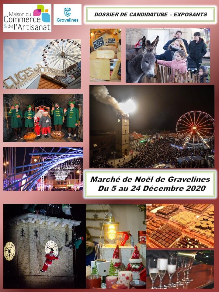 Vous souhaitez participer au Marché de Noël de Gravelines ?
