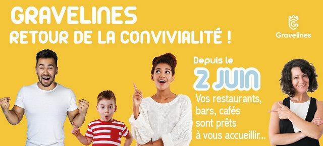Réouverture de vos  restaurants et bars  gravelinois dès le 2 juin 2020